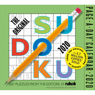 The Original Sudoku 2020 Page-A-Day Calendar by Editors at Nikoli