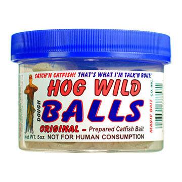 Magic Bait Hog Wild Balls Catfish Bait - 5 oz.