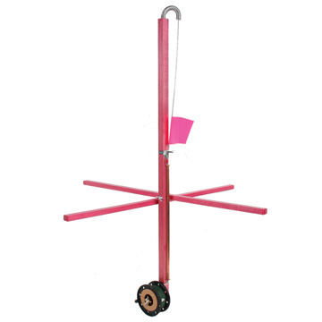 "Heritage 36"" Pink Laker Tip-Up - Complete Package"