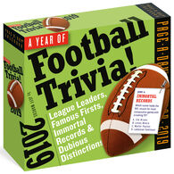 A Year of Football Trivia! 2019 Page-A-Day Calendar by Jeff Marcus