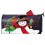 MailWraps Frosty Friends Magnetic Mailbox Cover