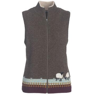 Woolrich Women's Grazing Sheep Lambs Wool Vest