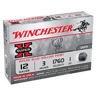 "Winchester Super-X 12 GA 3"" 1 oz. Rifled HP Slug Ammo (15)"