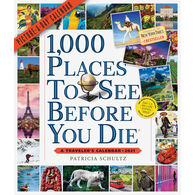 1,000 Places to See Before You Die Picture-A-Day 2021 Wall Calendar by Patricia Schultz