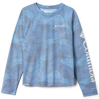 Columbia Girl's Solar Chill Printed Long-Sleeve Shirt