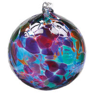 "Kitras Calico 3"" Glass Ball"