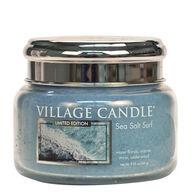 Village Candle Small Glass Jar Candle - Sea Salt Surf