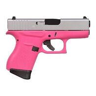 """Glock 43 FS Cerakote Pink 9mm 3.4"""" 6-Round Pistol"""