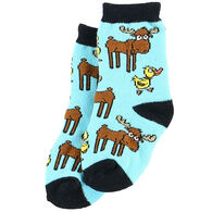 Lazy One Infant Boys' Duck Duck Moose Infant Sock