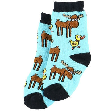 Lazy One Infant Boys Duck Duck Moose Infant Sock