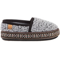 Acorn Boys' & Girls' L'il Woven Trim Moccasin Slipper