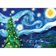 Allport Editions Silent Night, Starry Night Boxed Holiday Cards