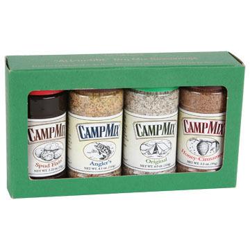 CAMP MIX 4-Pack Seasonings