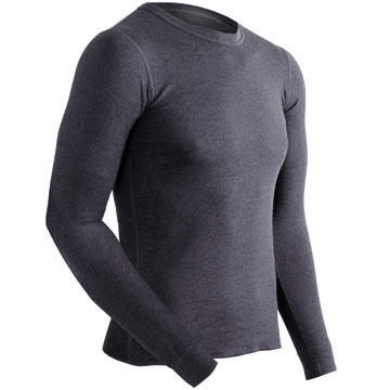 COLDPRUF Mens Big & Tall Authentic Thermal Crew-Neck  Top