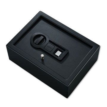Stack-On Small Drawer Biometric Lock Safe