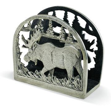 Big Sky Carvers Moose Metal Napkin Holder
