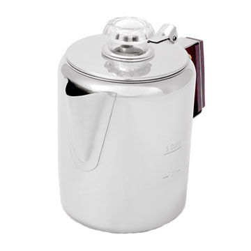 GSI Outdoors Stainless Steel Coffee Percolator