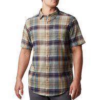 Columbia Men's Big & Tall Under Exposure Yarn-Dye Short-Sleeve Shirt
