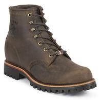 "Chippewa Men's 6"" Unlined Vibram Lug Sole Work Boot"