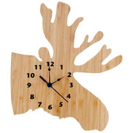 Trend Lab Bamboo-Northwoods Moose Wall Clock