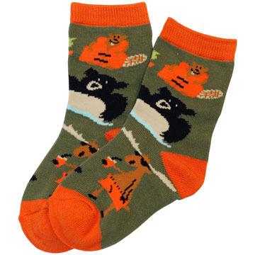 Lazy One Boys' & Girls' Up A Creek Sock