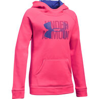 Under Armour Girls' Fleece Big Logo Hoodie