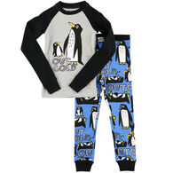 Lazy One Toddler Boy's Out Cold PJ Set
