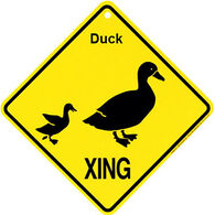 KC Creations Duck XING Sign