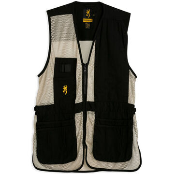 Browning Mens Trapper Creek Mesh Shooting Vest - Left Hand