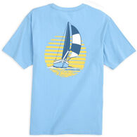 Southern Tide Men's Sunset Sailing Short-Sleeve T-Shirt
