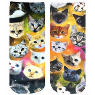 Living Royal Women's Galaxy Kitty Ankle Socks