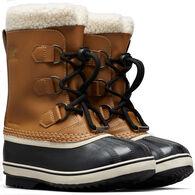 Sorel Boys' & Girls' Yoot Pac Waterproof Leather Winter Boot