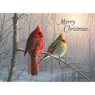 LPG Greetings Cardinal Couple Boxed Christmas Cards