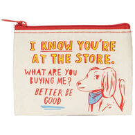 Blue Q Women's At The Store, What Are You Buying Me? Coin Purse