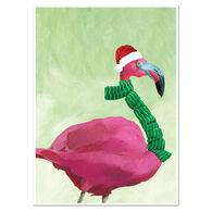 Allport Editions Fa La Flamingo Boxed Holiday Cards