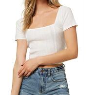 O'Neill Women's Channing Short-Sleeve Top