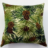 "Moosehead Balsam Fir 5"" x 5"" Pine Cone Pillow"