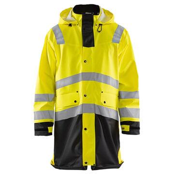 Blaklader Mens Big & Tall Hi-Vis Rain Coat