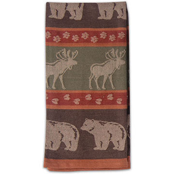 Kay Dee Designs Moose/Bear Jacquard Tea Towel
