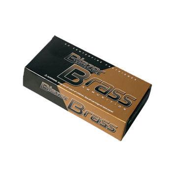 CCI Blazer Brass 40 Smith & Wesson 180 Grain FMJ FN Handgun Ammo (50)