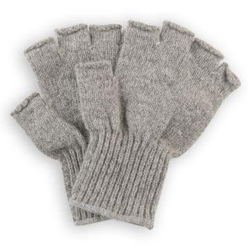 Newberry Mens Fingerless Ragg Wool Glove