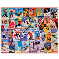 White Mountain Jigsaw Puzzle - Ski Posters