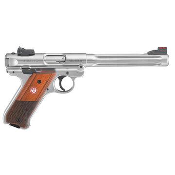 Ruger Mark IV Hunter Checkered Laminate 22 LR 6.88 10-Round Pistol