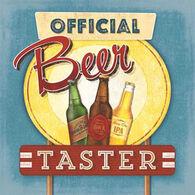 Paperproducts Design Beer Taster Beverage Napkin