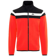 J. Lindeberg USA Men's Moffit Tech Jersey Mid Jacket
