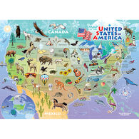 Outset Media Tray Puzzle - USA Map