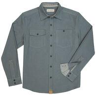 Dakota Grizzly Men's Barnes Brushed Cotton Twill Long-Sleeve Shirt