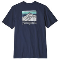 Patagonia Men's Line Logo Ridge Pocket Responsibili-tee Short-Sleeve T-Shirt