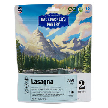 Backpackers Pantry Vegetarian Lasagna - 2 Servings