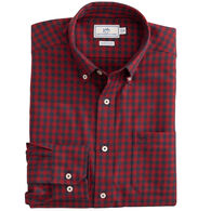 Southern Tide Men's Donner Gingham Performance Button Down Long-Sleeve Shirt